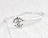 Protect This Woman Bangle Bracelet -Cowgirl Jewelry - Inspirational Jewelry -B372