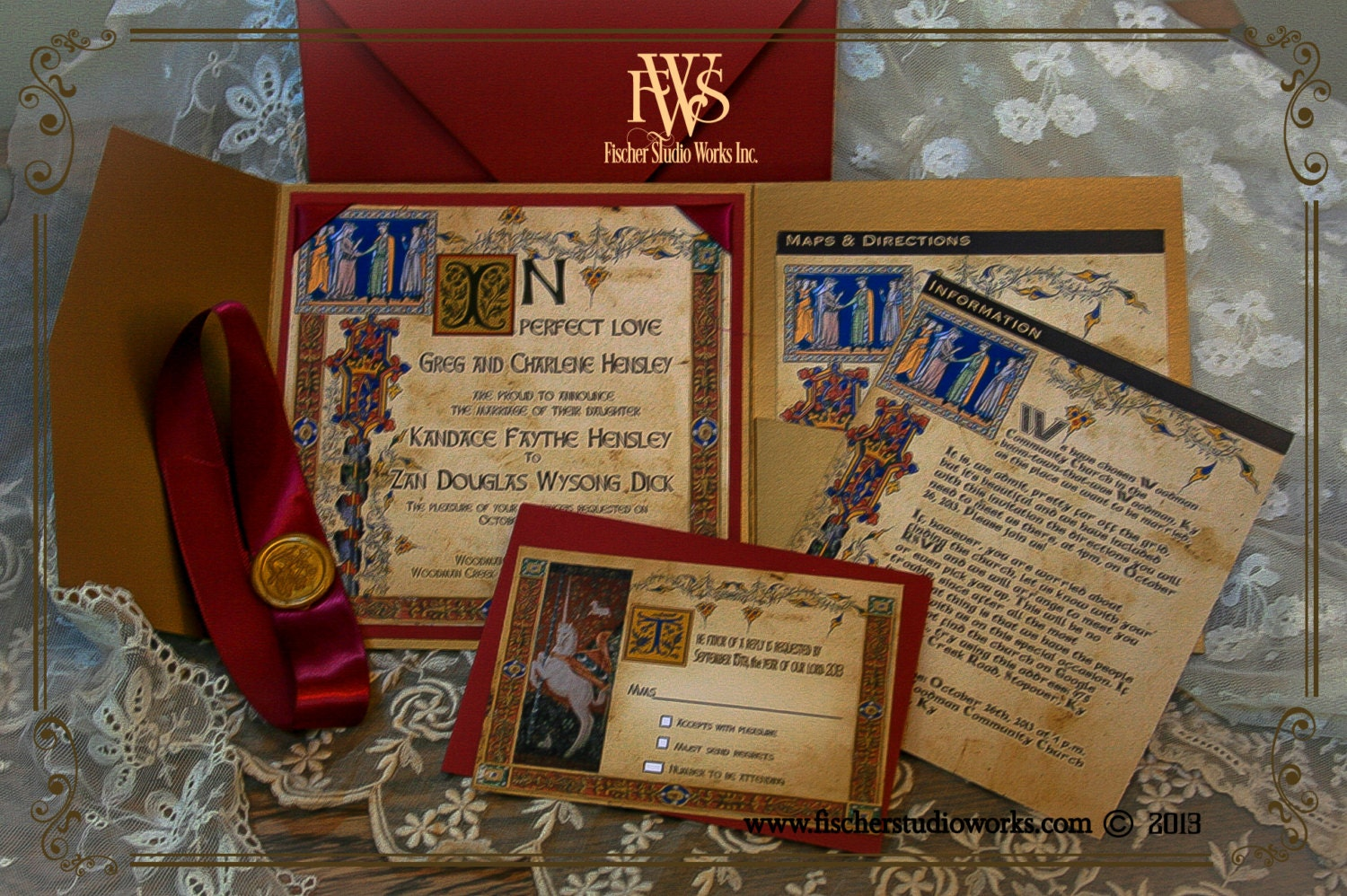Medieval Wedding Invitations is one of our best ideas you might choose for invitation design