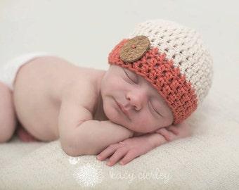 newborn boy hat, baby hat, baby boy hat, boys hat, crochet baby hat