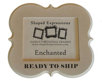 READY TO SHIP - 8x10 Enchanted unfinished picture frame