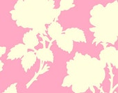 """Garden District CANVAS - Nouvelle Rose in Pink  - CHHB001.PINK - 58"""" - 1/2 Yard"""