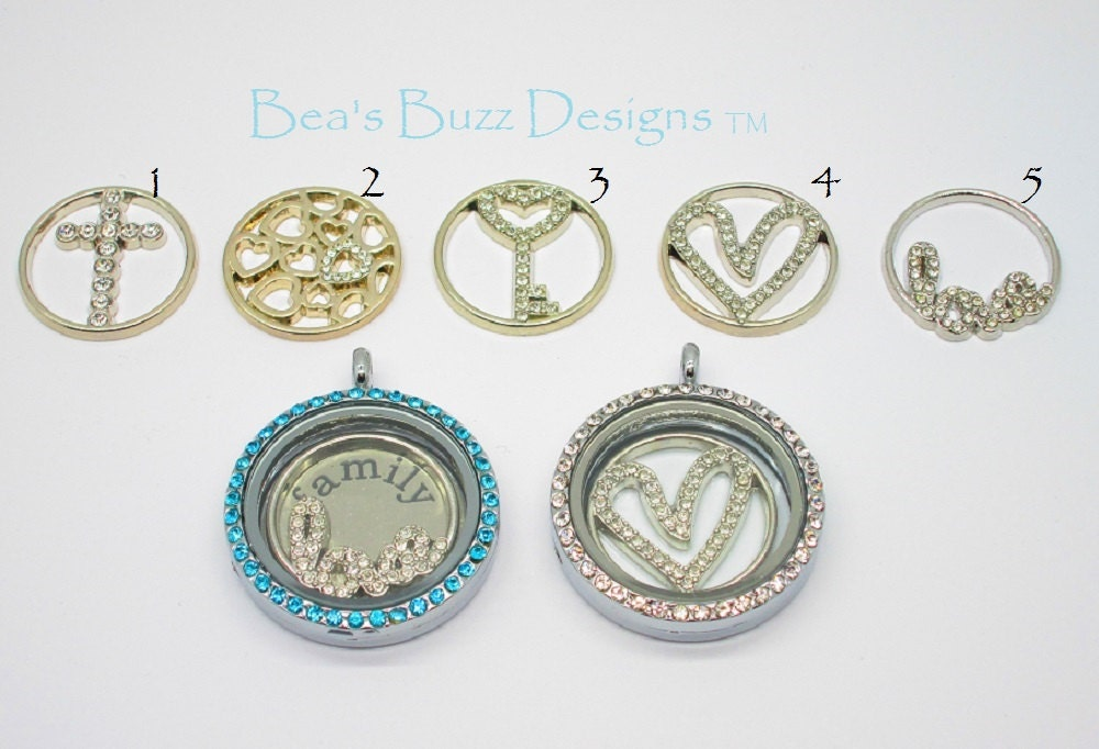 floating plate charms dangling by beasbuzzdesigns on etsy