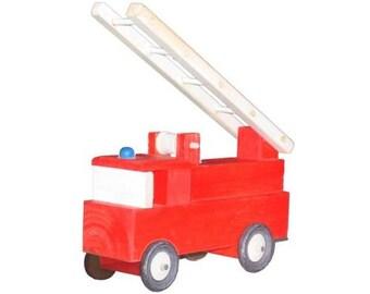 Fire Truck Wood Craft Kit