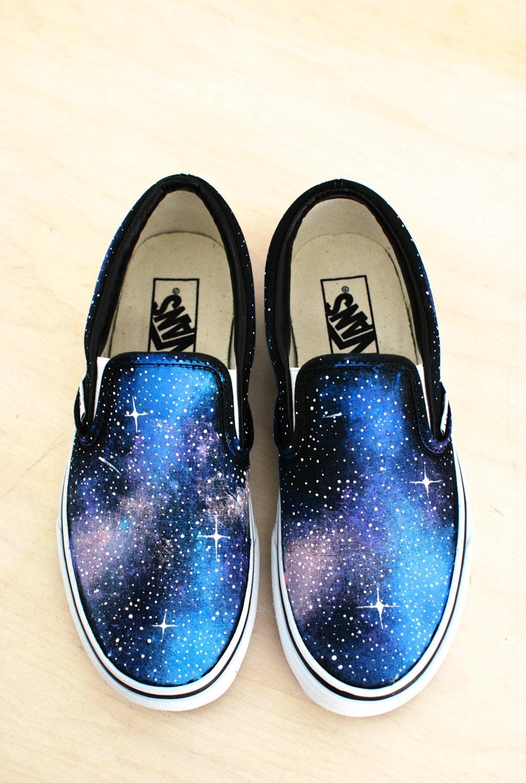 Galaxy Slip on Vans