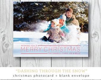 Dashing through the Snow Holiday Cards
