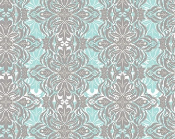 Modern Lace blue (118.101.04.2) - Modern Eclectic Collection by Khristian Howell - Blend Fabrics - 1 yard