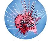 Lionfish Magnet