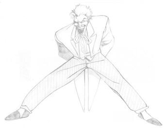 "Limited ""Joker"" print by Punk Guy Comics"