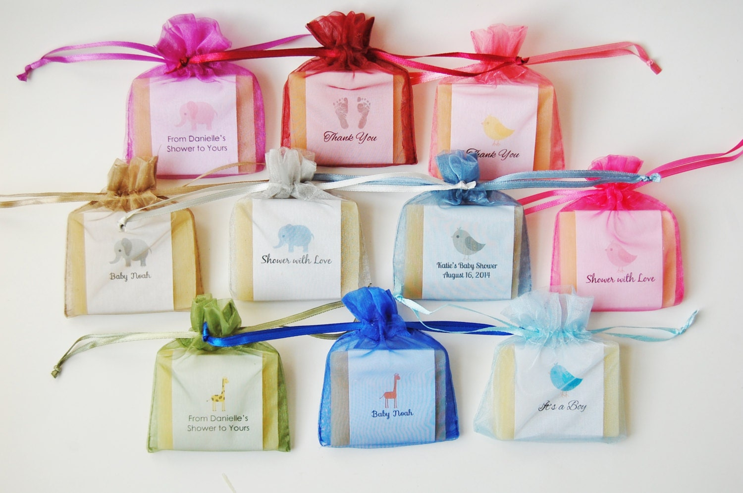 25 soap favors for baby shower