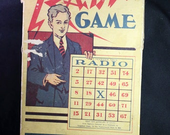 Vintage Game - The National Radio Game
