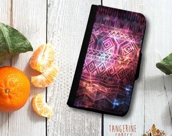 SALE SALE SALE Universe & Aztec Wallet Phone Case for the Samsung Galaxy S4.