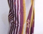 Sale mans sarong purple gold stripe 11A