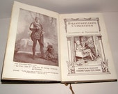 1920s William Shakespeare Comedies by Collins Books Illustrated by Photographs Vintage Book Antique Book Antiquarian Book