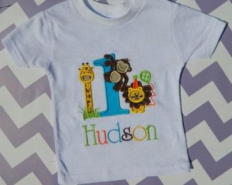 Jungle Birthday Shirt or Onesie, Zoo birthday pary, Jungle Party