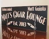 Cigar Bar, Cigar Bar Signs, Wedding Signs, Bar Signs, Cigar Bar Wedding Sign, Gift for him, Groomsman gift, Maple MT
