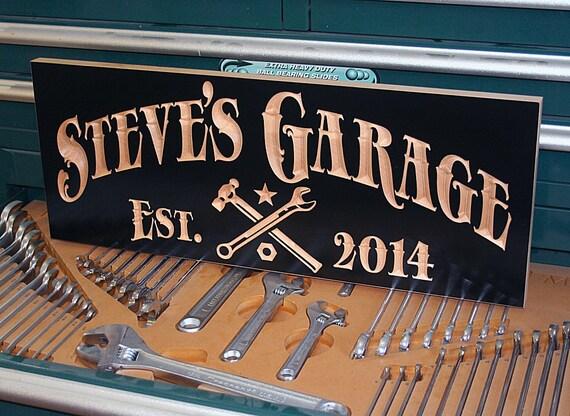 Personalized Garage Signs : Garage sign man cave door guy gift