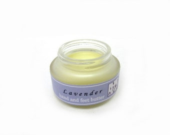 Organic Lavender Hand and Feet Butter