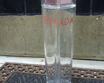 ESCADA Large Decorative Collectible Factice Perfume Display Bottle