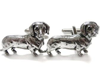 Dachshund Wiener Dog Cufflinks
