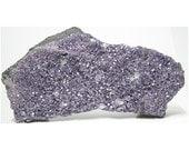 Chromium Amesite Rare Purple Crystals on Chromite Matrix Russian Display Stone