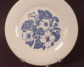 Wild Rose Dessert Plate by Homer Laughlin