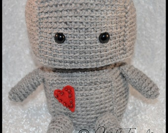 Crochet Amigurumi Robot- made to order!