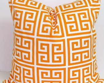 ORANGE Pillows, Orange Pillow Cover, Decorative Pillow, Orange Throw Pillow, Orange Pillows, Orange Accent Pillow, All Sizes, Euro, Cushion