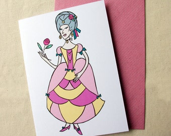 Greeting card - Marquise