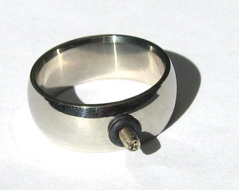 8mm Stainless Steel Interchangeable Ring Shank