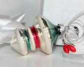 Vintage Christamas ornament, Decorative glass christmas ornament