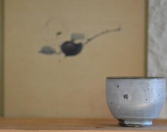 White slip bowl 3453, white slip, wood fired