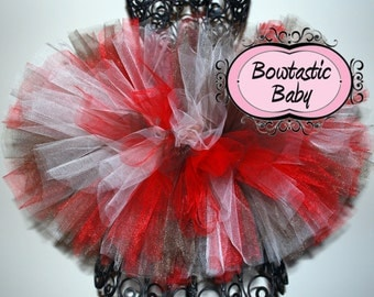 Fun Sock Monkey custom made tutu. . Perfect for a little monkey costume , All colors available for your little one