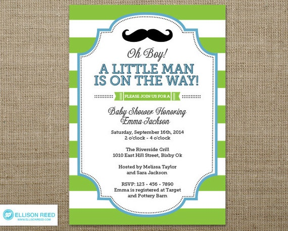 little man baby shower invitation little man invitation mustache