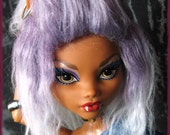 Monster High Fur Wig for Clawdeen / choose your style / synthetic fur wig / made-to-order