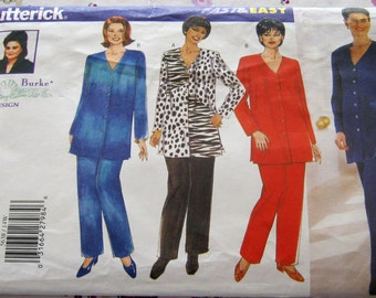 Butterick 5638  Top and Pants 14W-16W-18W Plus Size Out Of Print Pattern