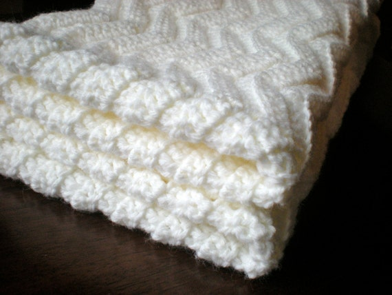 Gallery For > Easy Crochet Chevron Pattern