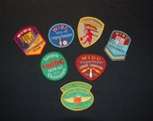 Vintage Lot of 18 LADIES BOWLING PATCHES 1970s