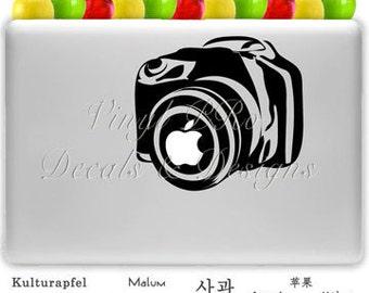 Photography Digital Camera Lens SLR Aperture Photo Decal for Macbook