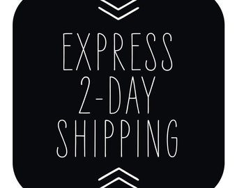 Express 1-2 Day Shipping with Tracking // Full