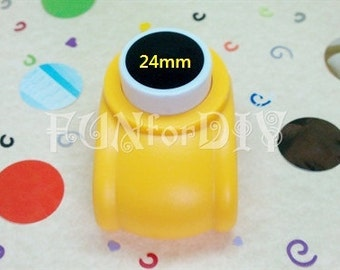 24mm large size paper punchers -- circle