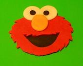 Sesame Street Inspired Elmo Cake Topper