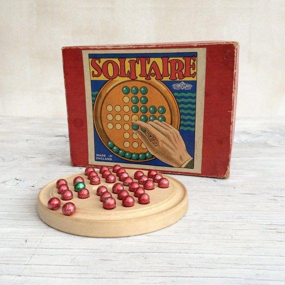 Vintage Solitaire Game With