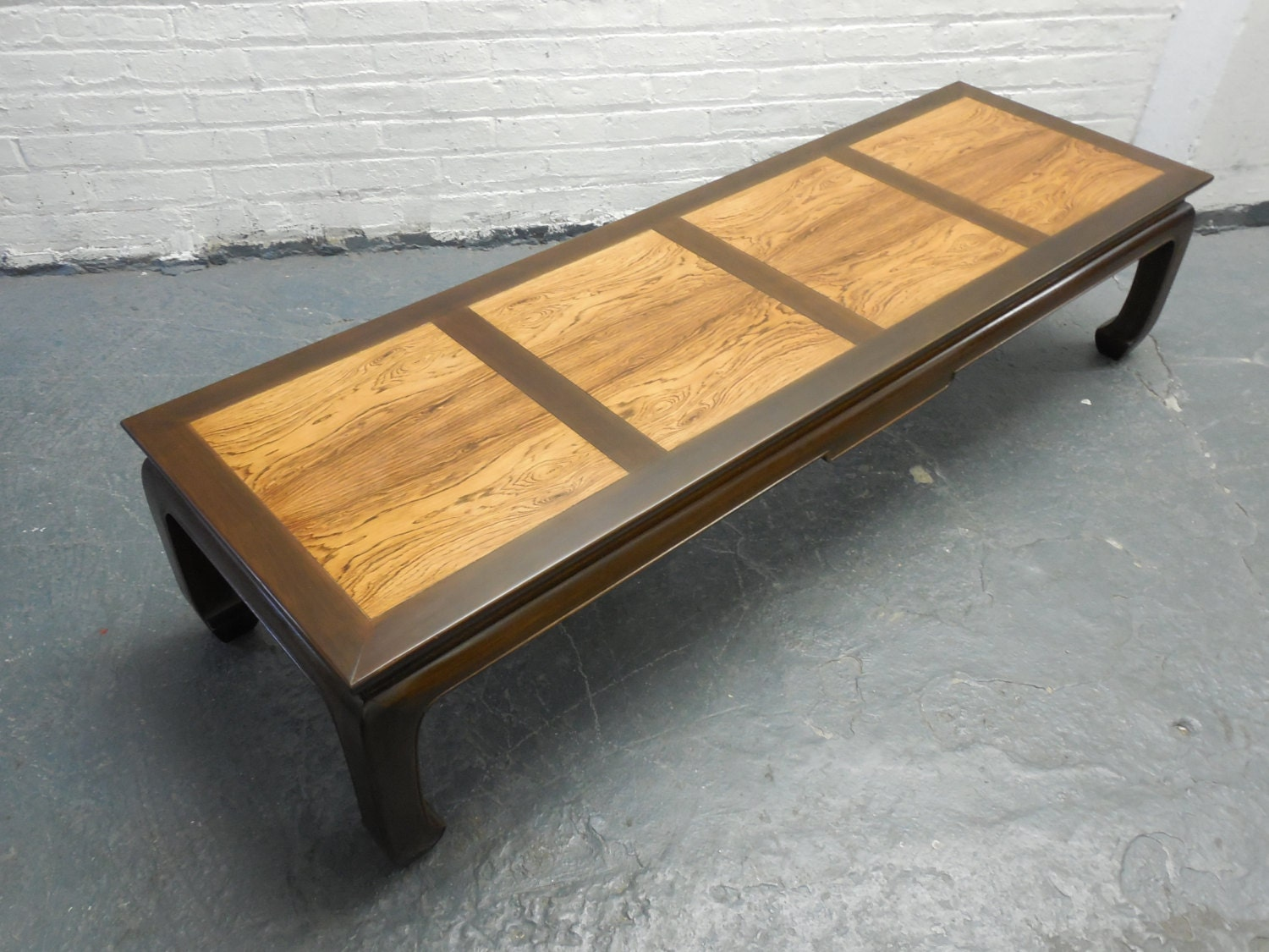 michael taylor for baker furniture coffee table by thirteenpieces