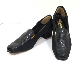 CALIFORNIA MAGDESIANS Black on Black Womens Loafers Size 7W
