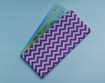 tract holder field service organizer tract organizer for the ministry purple white chevron