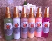 Aloe Vera Hydrating Fragrant Spritz Body and Hair Joy moisturizing mist perfume spray Pura Gioia