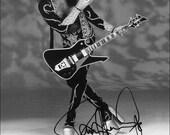 KISS Paul Stanley Washburn PS2000B Guitar Stand-Up Display