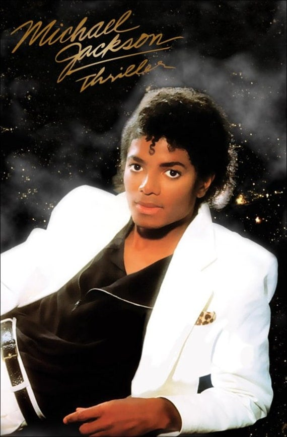 "Michael Jackson ""THRILLER"" Stand-Up Display"