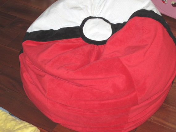 POKEMON Standard Bean Bag Chair Add A NAME Up To 5 Yrs