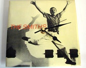 """The SMITHS Record Sleeve CLOCK. """"Boy With The Thorn In His Side"""" An original recycled 7"""" vinyl sleeve. Gift for Morrissey Fans"""